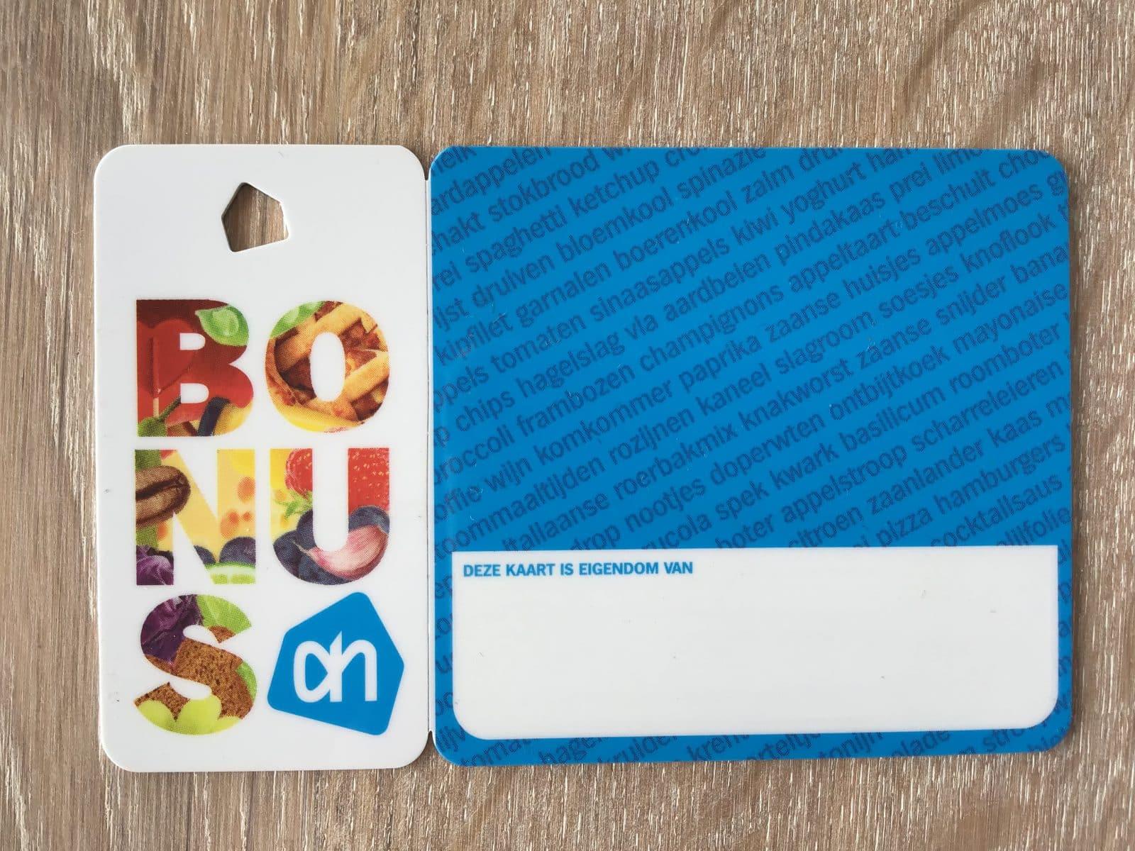 glutenvrije agenda, AH bonus kortingskaart
