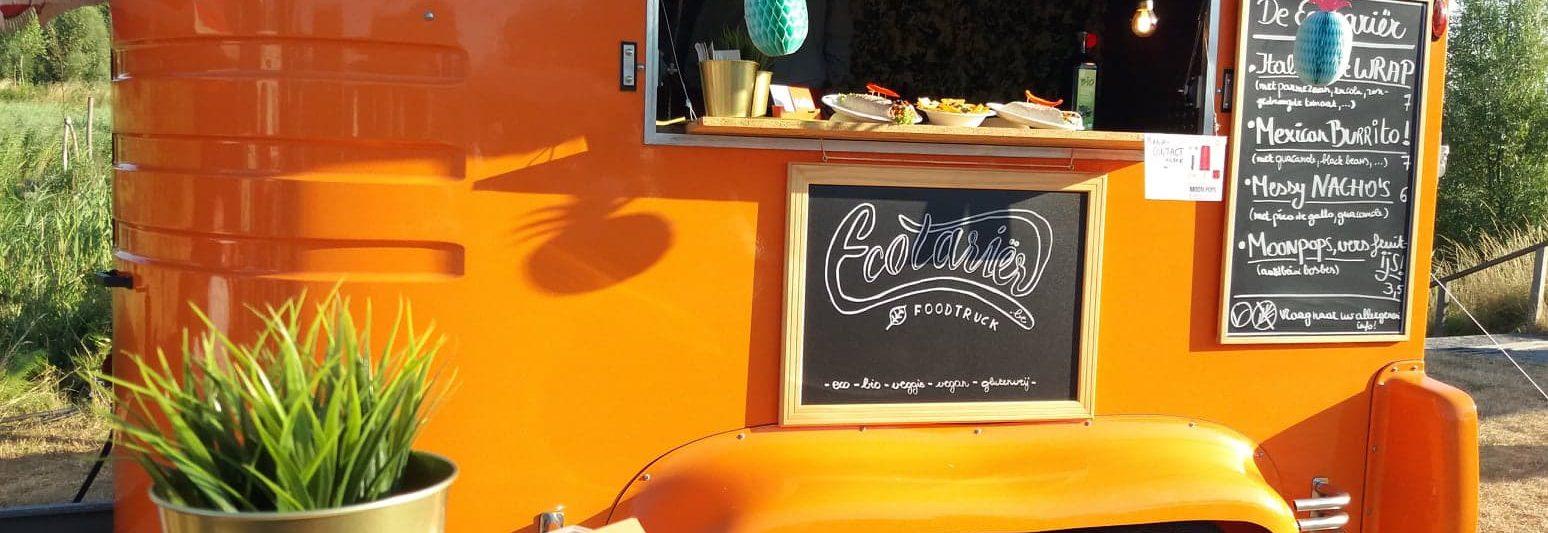 glutenvrije agenda, Oranje Foodtruck Ecotarier