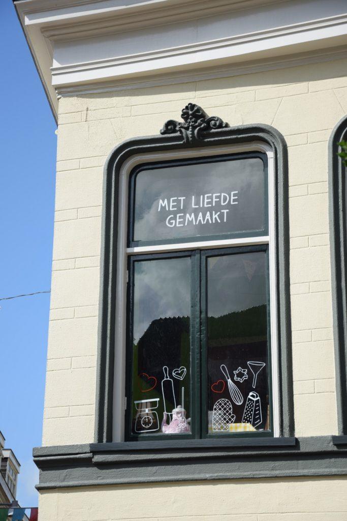 toet Groningen, foto van de gevel van toet pannenkoek