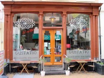 Voorgevel van Gustatio, Italiaans restaurant in Groningen