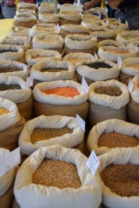 marktkraam van Waldfarming op de Groningse markt