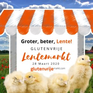 Lentemarkt 2020 Leiderdorp, glutenvrij