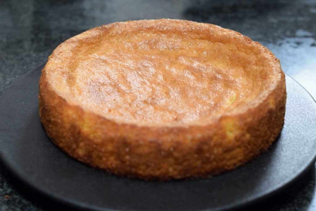 glutenvrije cake bodem voor een aardbeientaart recept