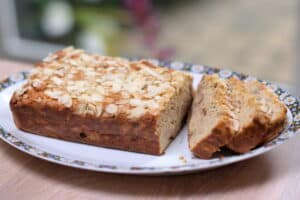notenbrood recept met amandelen, walnoten en appel