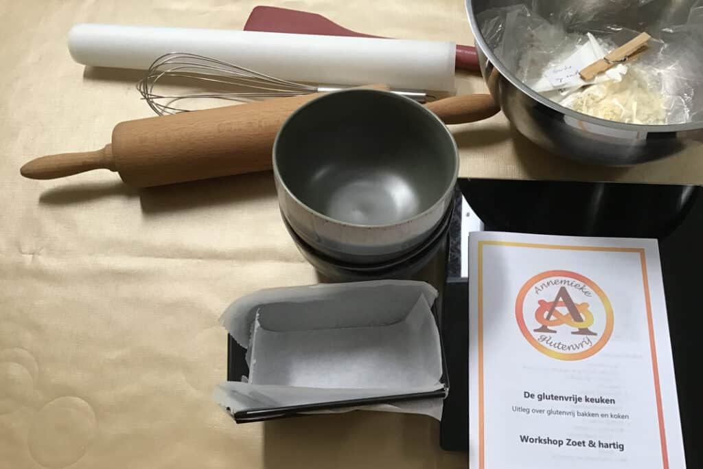 Workshop keuken gereedschap, mise en place