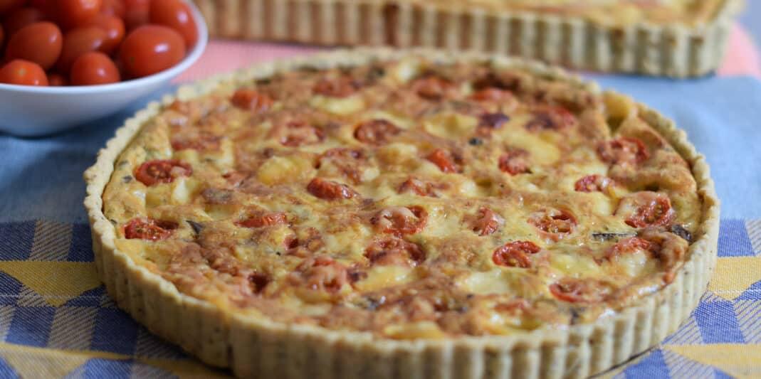 Leer glutenvrije hartige taart bakken in de workshop glutenvrij bakken Patisserie