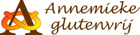 logo Annemieke Glutenvrij met krakeling