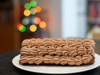 Chocolade cake ofwel Bûche de Noël